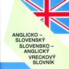 Libros de segunda mano: DICCIONARIO DE INGLÉS-ESLOVACO. Lote 100440879
