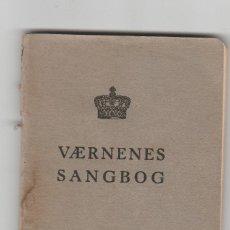 Libros de segunda mano: LIBRO DE CANCIONES MILITARES-ESCRITO EN DANES- AÑO 1953. Lote 100654347