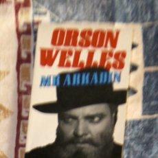 Libros de segunda mano: MR. ARKADIN ORSON WELLES. Lote 101238039