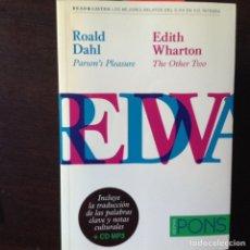 Libros de segunda mano - Parson's Pleasure. Roald Dahl - 101665932