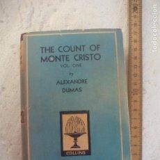 Libros de segunda mano: THE COUNT OF MONTE CRISTO VOL ONE. BY ALEXANDRE DUMAS. COLLINS POCKET CLASSICS Nº 132. Lote 101953507