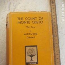 Libros de segunda mano: THE COUNT OF MONTE CRISTO VOL TWO. BY ALEXANDRE DUMAS. COLLINS POCKET CLASSICS Nº 133. Lote 101953687