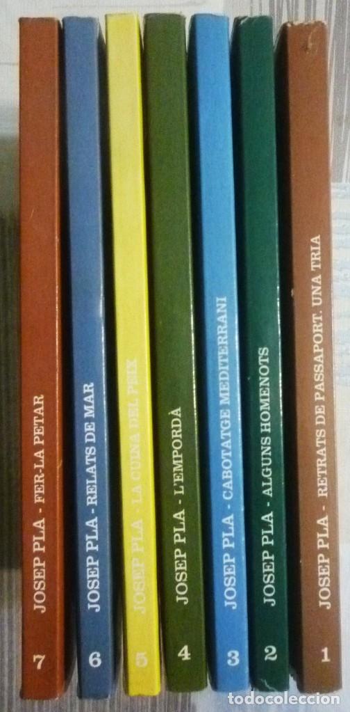 Libros de segunda mano: PÀGINES SELECTES. JOSEP PLA. COLECCION DE SIETE LIBROS - Foto 3 - 102263739