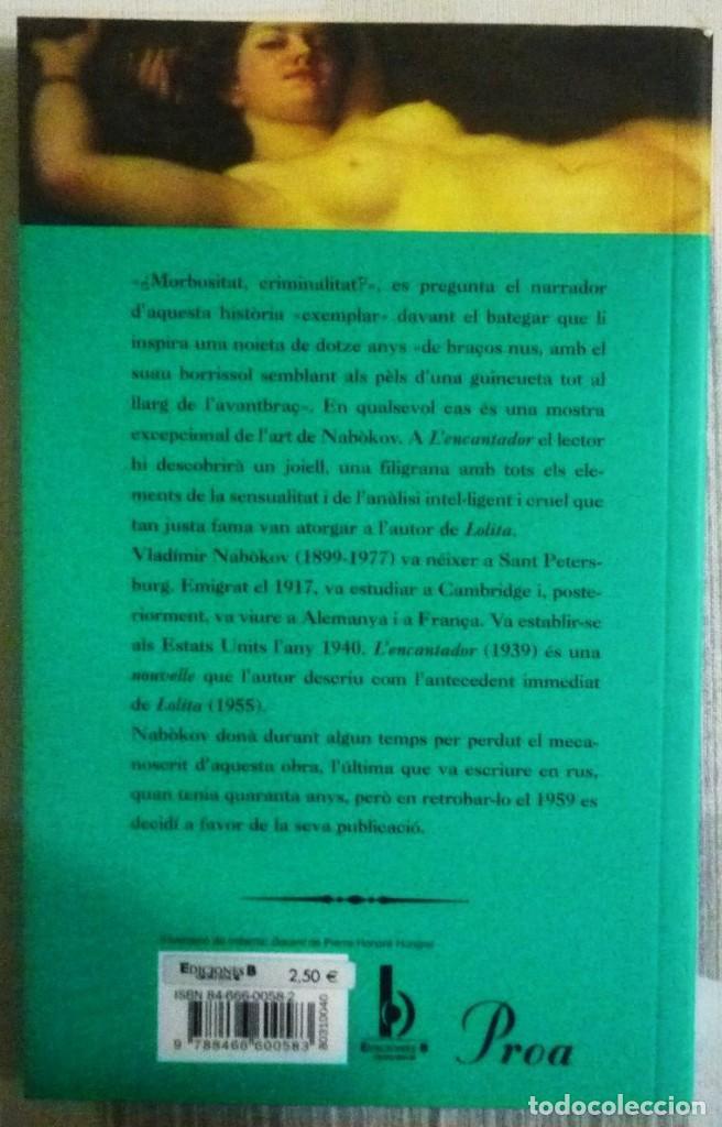 Libros de segunda mano: LENCANTADOR. DE VLADIMIR NABOKOV. LIBRO EN LENGUA CATALANA - Foto 2 - 102264199