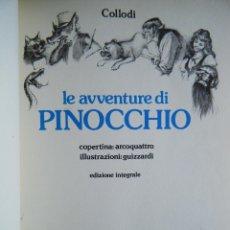 Libros de segunda mano: COLLODI, C. / PINOCCHIO. LE AVENTURE DI UN BURATTINO DI LEGNO.. Lote 102433079