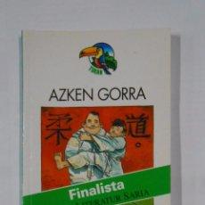 Libros de segunda mano: AZKEN GORRA. ROBERTO SANTIAGO. FINALISTA HAURA LITERATUR SARIA. EDEBE GITZA. EN EUSKERA. TDK325. Lote 102716191