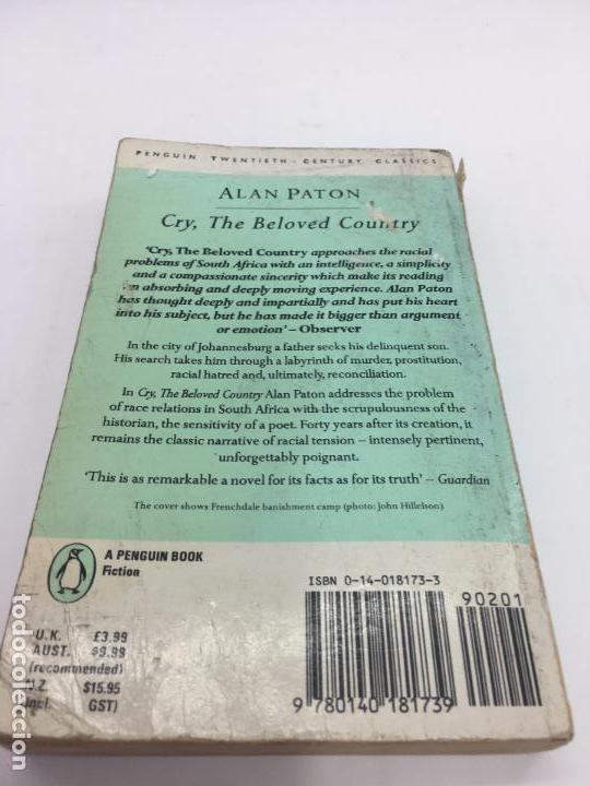 Libros de segunda mano: CRY, THE BELOVED COUNTRY por Alan Paton PENGUIN BOOKS - 1988 - Foto 6 - 102956843
