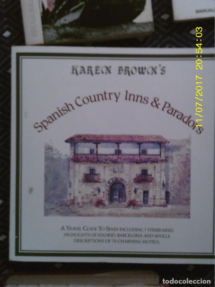 LIBRO Nº 1194 SPANISH CONTRY INNS AND PARADORS DE KAREN BROWNS (Libros de Segunda Mano - Otros Idiomas)
