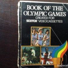 Libros de segunda mano: BOOK OF THE OLIMPIC GAMES. Lote 103363278