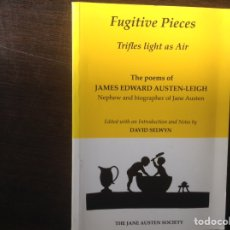 Libros de segunda mano: FUGITIVE PIECES. JAMES EDWARD AUSTEN-LEIGH. Lote 103363623