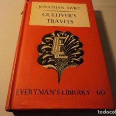 Libros de segunda mano: GULLIVERS TRAVELS LOS VIAJES DE GULLIVER J. SWIFT 1951. Lote 103662047