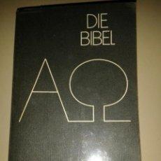 Libros de segunda mano: DIE BIBEL. Lote 104853095