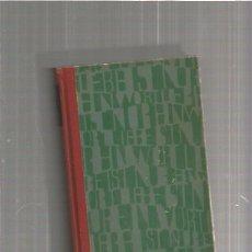 Libros de segunda mano: LIEBE IST NUR EIN WORT. Lote 105429151
