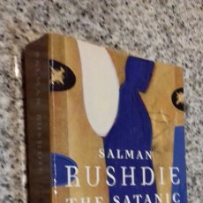 Libros de segunda mano: SALMAN RUSHDIE THE SATANIC VERSUS - 2.20 EUROS GASTOS DE ENVÍO. Lote 109621088