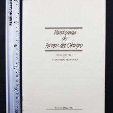 Libros de segunda mano: PASTORADA DE TORRES DEL OBISPO, T.SALAMERO REYMUNDO 1987 PAGINAS, HUESCA RIBAGORZANO FABLA MUY RARO. Lote 110043539