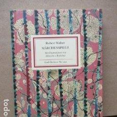 Libros de segunda mano: MARCHENSPIELE - ROBERT WALSER (EN ALEMAN). Lote 110583823