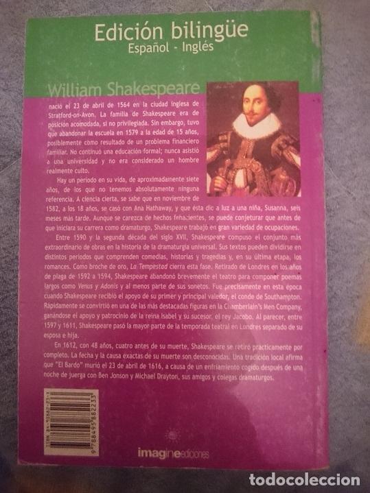 Libros de segunda mano: WILLIAM SHAKESPEARE - RICARDO III - RICHARD III -EDICION BILINGÜE ESPAÑOL INGLES --RefM3E1 - Foto 2 - 110803239