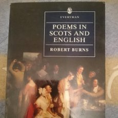 Libros de segunda mano: POEMS IN SCOTS AND ENGLISH - ROBERT BURNS --REFM3E1. Lote 110804371
