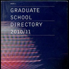 Libros de segunda mano: CCW GRADUATE SCHOOL DIRECTORY 2010/11. CAMBERWELL CHELSEA WIMBLEDON. 136 PP. 22,5X16 CM.. Lote 110914527
