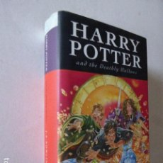 Libros de segunda mano: HARRY POTTER AND THE DEATHLY HALLOWS. J.K. ROWLING. BLOOMSBURY, 2007. FIRST EDITION.. Lote 111476255