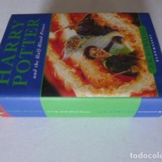 Libros de segunda mano: HARRY POTTER AND THE HALF-BLOOD PRINCE. J.K. ROWLING. BLOOMSBURY, 2005. FIRST EDITION.. Lote 111476867
