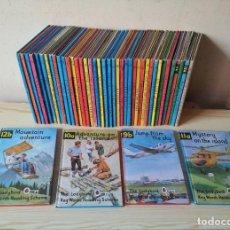 Libros de segunda mano: LADYBIRD BOOK - LOTE DE 44 LIBROS, VARIOS AUTORES - IDIOMA INGLES - PRINTED EN ENGLAND - LEER. Lote 111600495