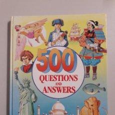 Libros de segunda mano: 500 QUESTIONS AND ANSWERS.. Lote 113112115