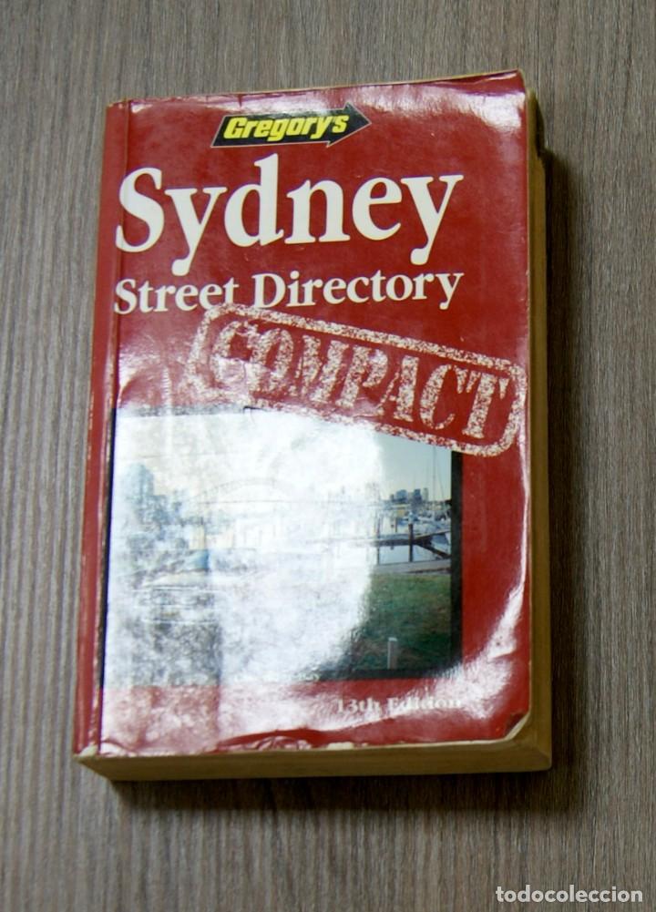 GREGORY'S SYDNEY STREET DIRECTORY 1995 (Libros de Segunda Mano - Otros Idiomas)