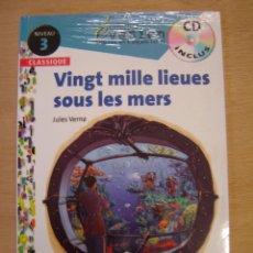 Libros de segunda mano: VINGT MILLE LIEUES SOUS LES MERS (FRANCÉS- NIVEUA 3) - JULES VERNE. Lote 113935543