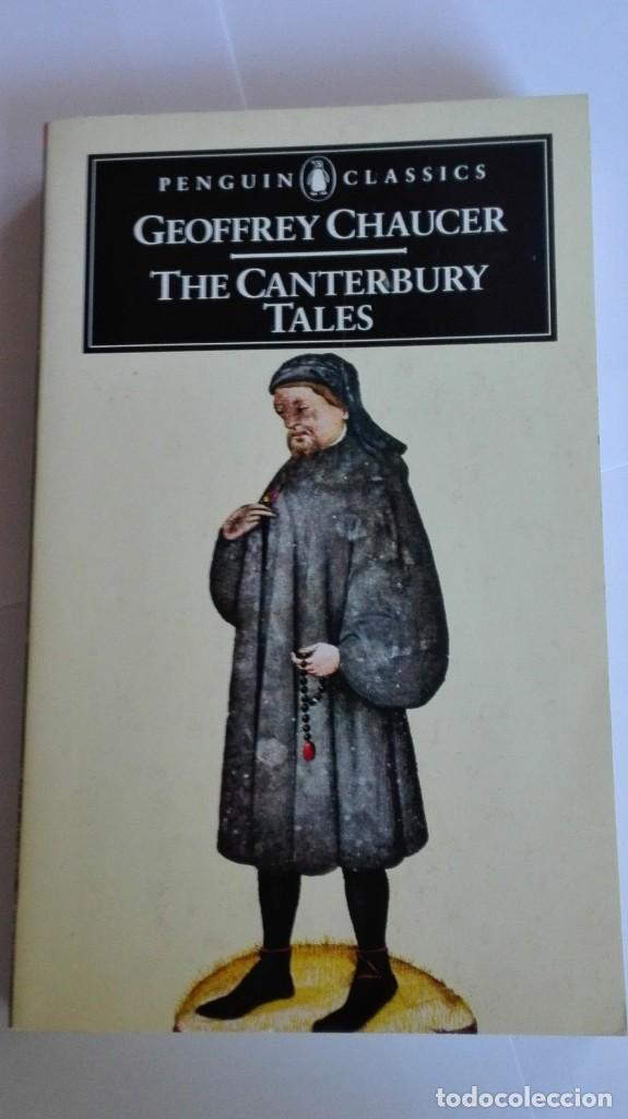 THE CANTERBURY TALES GEOFFREY CHAUCER EN INGLÉS (Libros de Segunda Mano - Otros Idiomas)