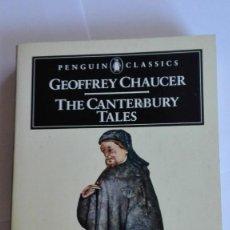 Libros de segunda mano: THE CANTERBURY TALES GEOFFREY CHAUCER EN INGLÉS. Lote 114888567