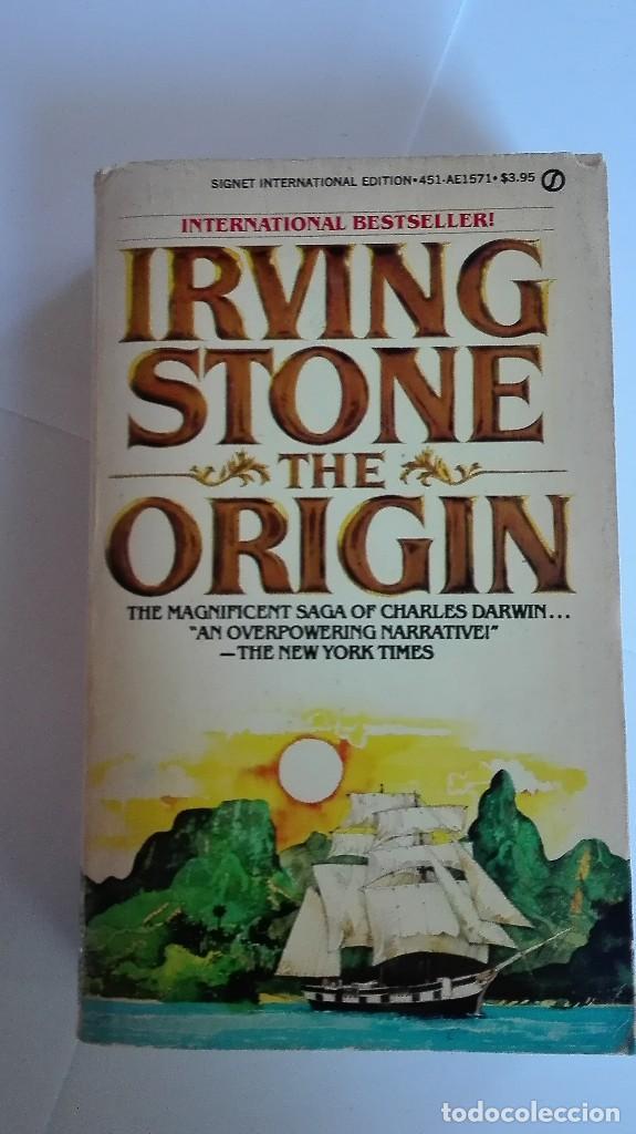 THE ORIGIN IRVING STONE EN INGLÉS (Libros de Segunda Mano - Otros Idiomas)