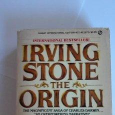 Libros de segunda mano: THE ORIGIN IRVING STONE EN INGLÉS. Lote 114888735