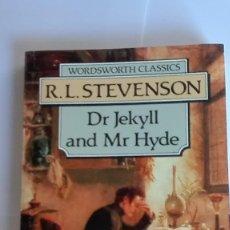 Libros de segunda mano: DR JEKYLL AND MR HYDE R. L. STEVENSON EN INGLÉS. Lote 114930827