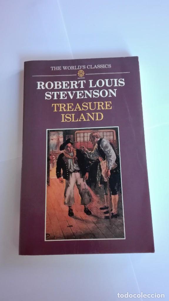 TREASURE ISLAND ROBERT LOUIS STEVENSON EN INGLÉS (Libros de Segunda Mano - Otros Idiomas)