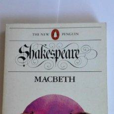 Libros de segunda mano: MACBETH WILLIAM SHAKESPEARE EN INGLÉS. Lote 114931359