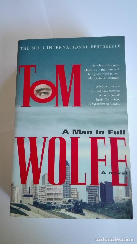 A MAN IN FULL TOM WOLFE EN INGLÉS (Libros de Segunda Mano - Otros Idiomas)