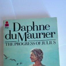 Libros de segunda mano: THE PROGRESS OF JULIUS DAPHNE DU MAURIER 1979 EN INGLÉS. Lote 114989743