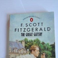 Libros de segunda mano: THE GREAT GATSBY F. SCOTT FITZGERALD EN INGLÉS. Lote 114990239