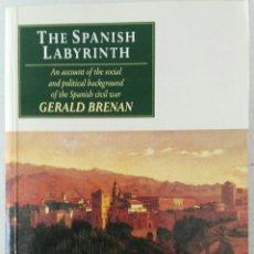 Libros de segunda mano: THE SPANISH LABYRINTH. GERALD BRENAN. Lote 115136676