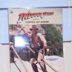 Libros de segunda mano: INDIANA JONES AND THE TEMPLE OF DOOM EN INGLES . Lote 115933535