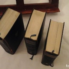 Libros de segunda mano: LOTE DE 3 LIBROS ENCUADERNADOS EN CARTONÉ . PLAZA&JANES 1963 , 1966 ,DOS AUTORES. Lote 116223151