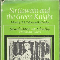 Libros de segunda mano: SIR GAWAIN AND THE GREEN KNIGHT, EDITED BY J.R.R. TOLKIEN , SECOND EDITION 1967. Lote 116386687