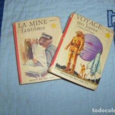 Libros de segunda mano: LOTE DE 2 LIBROS EN FRANCES , COLECTION L'ETOILE D'OR. Lote 117319175