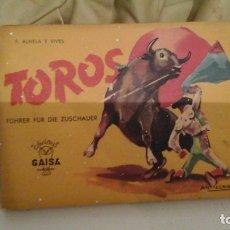 Libros de segunda mano: TOROS LIBRITO EN ALEMÁN . 1959. Lote 118034855