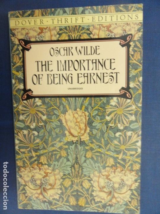 THE IMPORTANCE OF BEING EARNEST - OSCAR WILDE (Libros de Segunda Mano - Otros Idiomas)