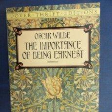 Libros de segunda mano: THE IMPORTANCE OF BEING EARNEST - OSCAR WILDE. Lote 118469987