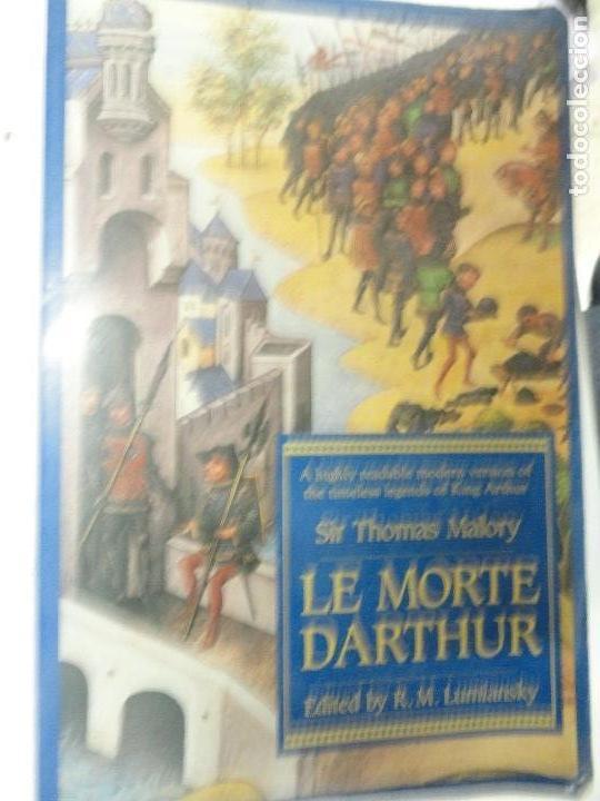 LE MORTE D'ARTHUR - SIR THOMAS MALORY (Libros de Segunda Mano - Otros Idiomas)