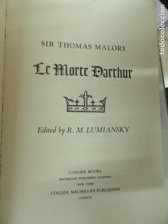 Libros de segunda mano: Le Morte dArthur - Sir Thomas Malory - Foto 2 - 118466935