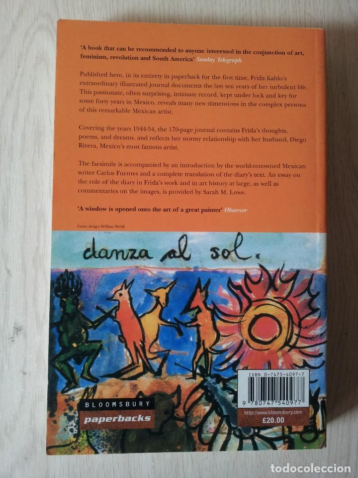Libros de segunda mano: THE DIARY OF FRIDA KAHLO - AN INTIMATE SELF PORTRAIT - BLOOMSBURY 2001 - IDIOMA INGLES - Foto 2 - 119681047